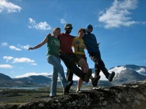 Noorwegen 2010 – dag 9 – Sognefjellsvegen enfjorden