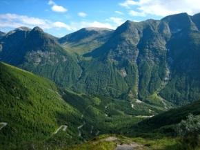Noorwegen 2010 – dag 10 – Bergwegen enoverzetboten