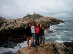 Noorwegen 2010 – dag 14 – Heerlijke Fiskesuppe op het zuidelijkstepunt