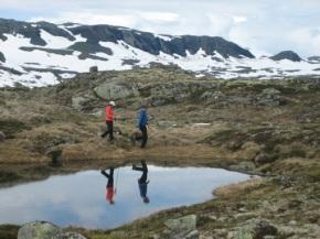 Noorwegen 2012 – dag 6 – Wandelen in een arctischeomgeving