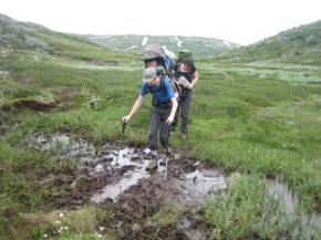 Noorwegen 2012 – dag 3 tot 5- Driedaagse trektocht inHardangervidda