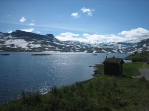 Noorwegen 2012 – dag 2 – Zwemmen in hetfjord