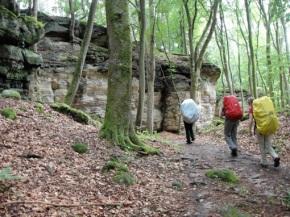 Tweedaagse trektocht: Müllerthal Trail2