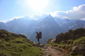 Vijfdaagse trektocht langs de Tour des AiguillesRouges