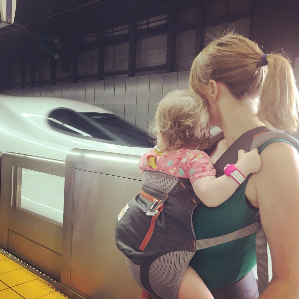 Japan 2017 - dag 3 - Met de Shinkansen naar Kyoto