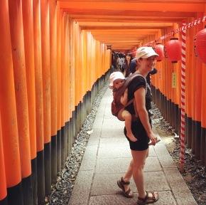 Japan 2017 – dag 7 – Massa's torii enkimono's